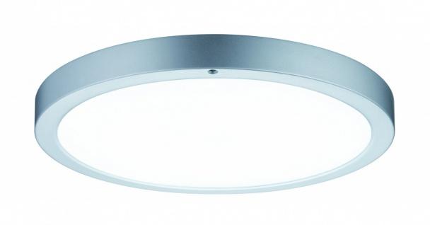WallCeiling Smooth LED-Panel 360mm 13W 230V Chrom matt/Weiß Metall/Kunststoff