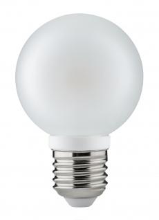 28323.10 10 Stück Paulmann E27 Fassung LED Globe 60 4W E27 230V Satin 2700K