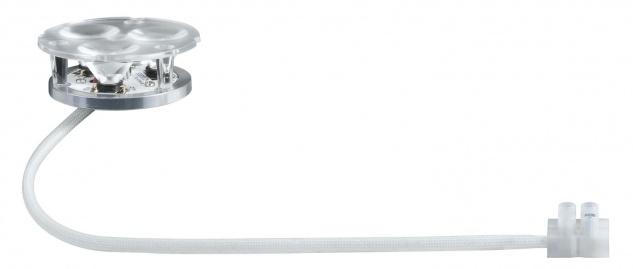 Paulmann Premium Einbauleuchte Set Power Flood LED 3x3W 9VA 230V 83mm Eisen gebürstet/Alu Zink - Vorschau 3