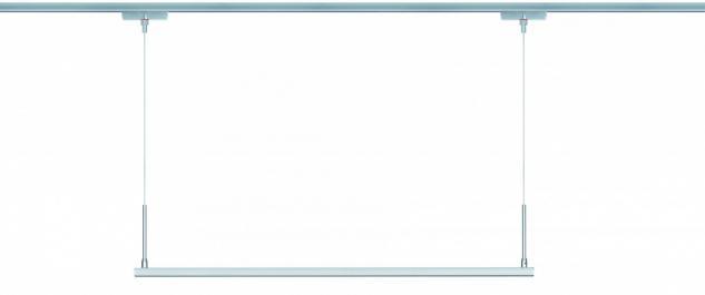 950.66 Paulmann U-Line ULine System L+E Pendel Line 1x20W LED Chrom matt 12V Metall