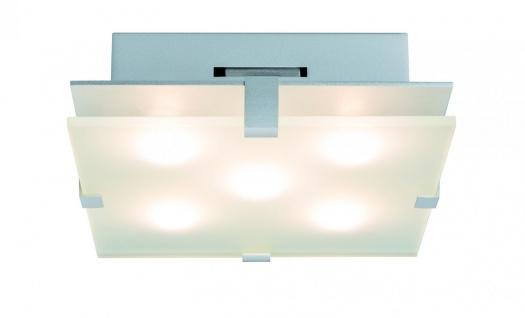 Paulmann WallCeiling Xeta 14W LED 200x200mm Chrom matt 230V Metall/Glas