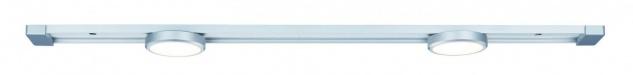 Paulmann 703.03 Function SlideLED Basisset 56, 5cm 2x5W LED 20VA Alu structure 230V/24V Alu