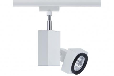 Paulmann URail Schienensystem Light&Easy Spot Gurnemanz max. 1x50W GU5, 3 Weiß 230V Metall