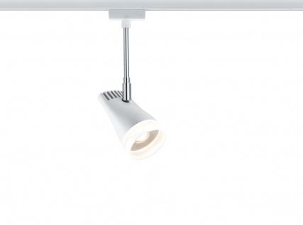 Paulmann URail Schienensystems LED Spot Drive 1x5, 4W Weiß/Chrom 230V Metall/Kunststoff
