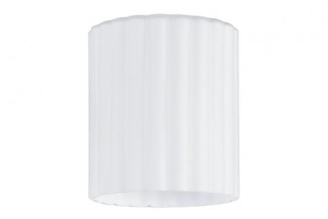 Coole Wandbeleuchtung Schirm aus Glas in weiß// grau satiniert Wohnraumleuchte