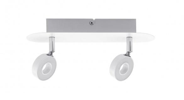 Paulmann Spotlight Cycle LED 2x4, 3W Weiß/Chrom 230V Metall - Vorschau 2