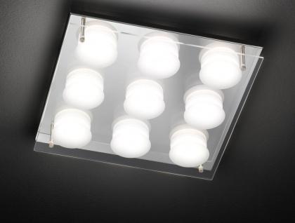 ETT 50182 Deckenleuchte 9 flg. LED 9 x 5 W 3.000 K 3.375 lm Chrom