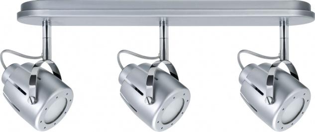 Paulmann 666.16 Spotlights Mega Balken 3x11W GU10 Chrom matt 230V Metall