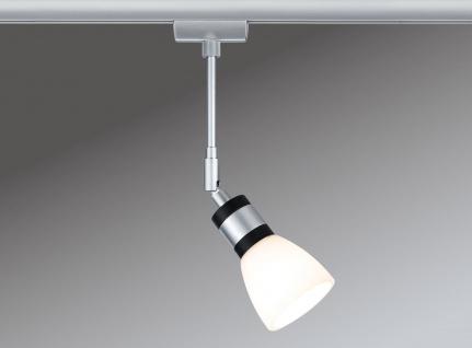 Paulmann URail Schienensystem LED Spot Titurel II 1x2, 2W G9 Chrom matt/Chrom 230V Metall/Glas - Vorschau 2