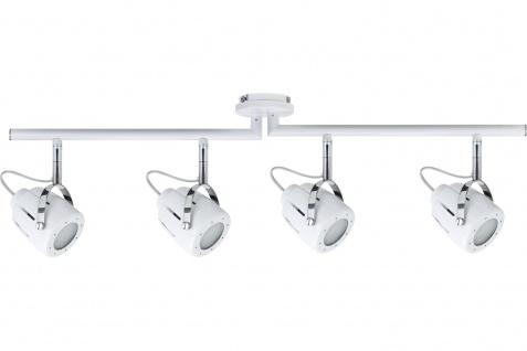 Paulmann Spotlights Mega Balken max. 4x50W GU10 Weiß 230V Metall