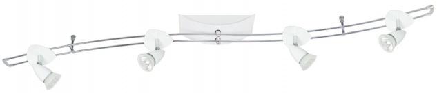 Paulmann Schienensystem Hip Cannes 150 4x35W GU5, 3 Weiß 230/12V 150VA Metall