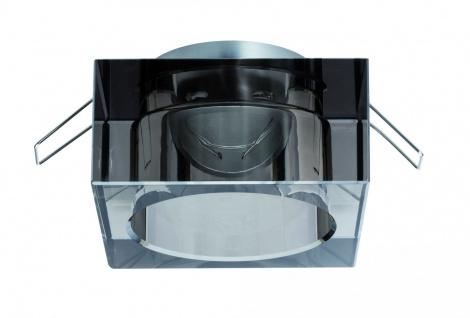 Paulmann 2Easy Premium Einbauleuchte 3er Spot-Set Cristal starr 51mm Rauchglas/Glas