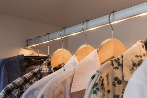 Paulmann Function DressLight Kleiderstange kürzbar IR-Sensor 60cm LED Alu 4x1, 5VAAA Alu Kunststoff - Vorschau 3