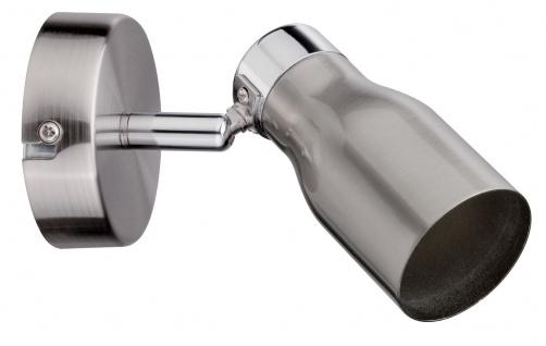 Paulmann Spotlight Meli max 1x10W GU10 Nickel satiniert 230V Metall ohne Schalter