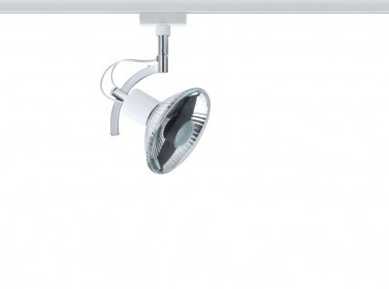 Paulmann 976.91 URail Schienensystem Light&Easy Spot Roncalli 1x50W GU10 Weiß 230V Metall - Vorschau 2