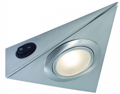 Möbel ABL Set 3eck High power LED 3x5W 3000K 230V/700mA Edelstahl/Glas