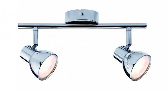 Paulmann Spotlight Cup LED 2x4, 6W Chrom 230V Kunststoff