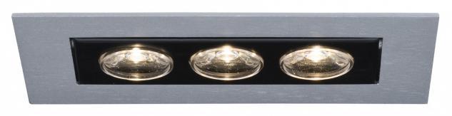 994.55 Paulmann Einbauleuchten Premium EBL Cardano LED 1x(3x1W) 350mA Chrom matt/Alu