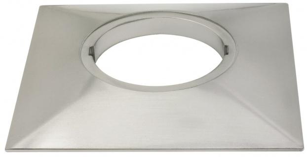Paulmann 987.82 Special Aufbauring eckig UpDownlight LED 80mm Eisen gebürstet/Alu Zink
