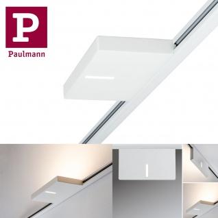 Paulmann 953.24 URail Spot Uplight Case 16W Weiß 230V Metall