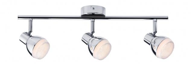 Paulmann Spotlight Gloss LED 3x4, 6W Chrom 230V Kunststoff