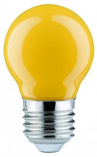 Paulmann LED Tropfen 0, 6W E27 Gelb
