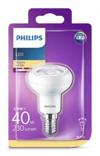 Philips 8718696578452 Reflektor mit Drehsockel, 2, 9 W (40 W), E14, warmweiß, Reflektor