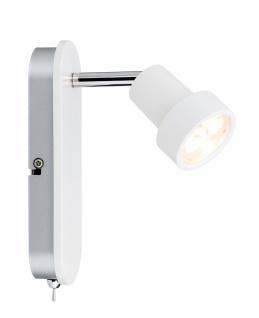Paulmann 602.26 Spotlight Arioso Balken 1x3W Weiß matt 230V Metall