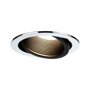 Paulmann Premium EBL Helia rund schwb LED 2700K 13W 1, 4A 115mm Chrom schw m Alu Acryl 998.76