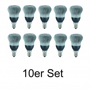 10x 28066.10 Paulmann E14 Fassung LED R50 Reflektor 38° 3W Warmweiß
