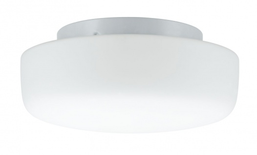 Paulmann 703.42 WallCeiling Deneb IP44 max.2x40W E14 250mm Weiß/Opal 230V Metall/Glas