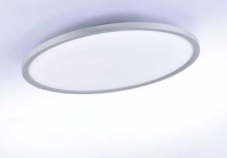 FLAT Leuchten Direkt Deckenleuchte, silber 1xLED-Board 25W 3000K Innenleuchte, IP20