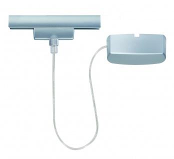 Paulmann URail Einspeiser System L&E Stromeinspeisung max. 1000W Chrom matt 230V Metall