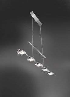 Paul Neuhaus 2131-55 FUTURA Pendelleuchte, stahl 25W LED-Board 12V IP20