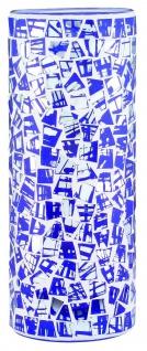 Paulmann Living 2Easy Glas Fabro Mosaik Blau