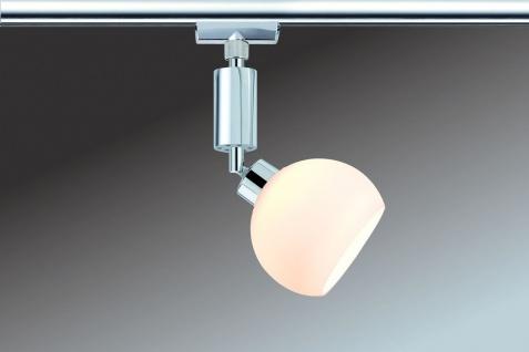 Paulmann 950.98 URail Schienensystem Spot Wolbi 1x3W Chrom/Weiß 230V/12V Metall/Glas - Vorschau 2