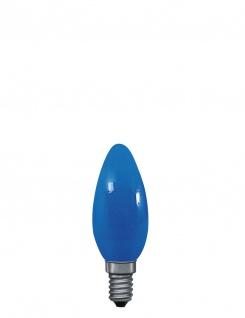 Paulmann 402.24 Kerzenlampe 25W E14 Blau