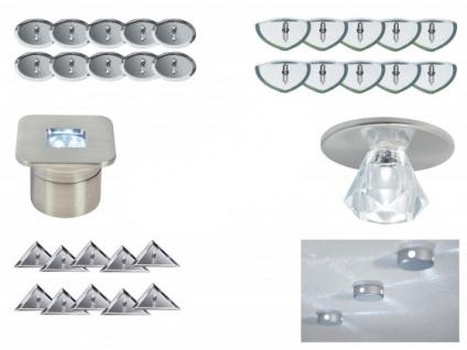 Paulmann Star Line Sternenhimmel LED Einbauleuchten Halogen Lampen Komplett Set