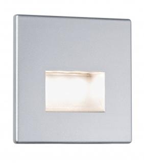 Paulmann Special Wand Einbauleuchte Set Edge eckig LED 1x1, 2W 230V Chrom matt