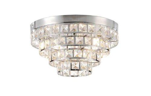 Deckenleuchte 50180-17 Leuchten Direkt 1480 Lumen 4 x 28 W G9