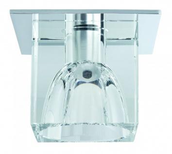 920.17 Paulmann Einbauleuchten Quality EBL Glassy Cube max. 20W 12V G4 83x83mm Klar/Chrom Glas/Metall - Vorschau 1