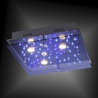 16470-17 Leuchten Direkt NIGHTSKY 2 Deckenleuchte, chrom 11, 8W GU10 230V IP20