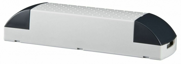 Paulmann VDE Profi Elektroniktrafo 50-150W 230/12V 150VA Grau/Schwarz