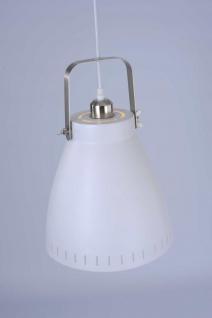 EVA Leuchten Direkt Pendelleuchte, weiss 1xE27 60W Innenleuchte, IP20 - Vorschau 2