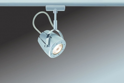 Paulmann URail Schienensystem Light&Easy Spot Mega 1x40W GU10 230V Chrom matt Metall