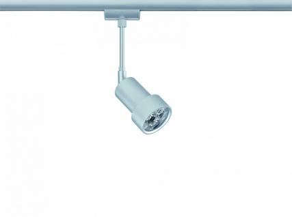 950.37 Paulmann U-Rail Einzelteile URail System Light&Easy Spot LEDmanz2 1x3W Chrom matt 230V Metall