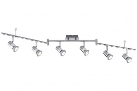 Nice Price Nice Price Spotlight C12 LED Stange 6x3, 5W GU10 Chrom 230V Metall