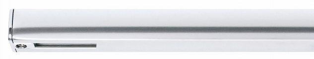 968.70 Paulmann U-Rail Einzelteile URail System Light&Easy Endeinspeisung max.1000W Chrom 230V Kunststoff