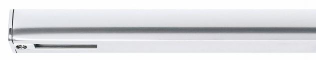 Paulmann URail Schienensystem Light&Easy Endeinspeisung max.1000W Chrom 230V Kunststoff