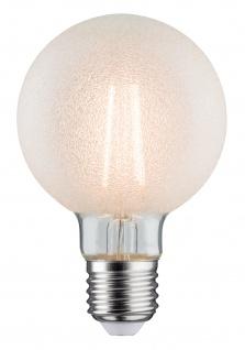 Paulmann 284.85 LED Globe 80 6W E27 Eiskristall 2700K dimmbar